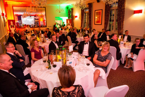 Management and Bespoke staff from across the country attend the 2016 BeFactor Awards
