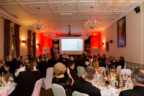 Attendees of the 2016 Bespoke BeFactor Awards, held at The Talbot, in Ripley.