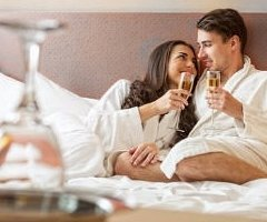 Spoil the one you love with a romantic break away, including Dinner Bed & Breakfast in an upgraded room, plus a bottle of Champagne and a box of chocolates in your room on arrival. From just £89.00 per person