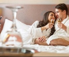 Spoil the one you love with a romantic break away, including Dinner Bed & Breakfast in an upgraded room, plus a bottle of Champagne and a box of chocolates in your room on arrival.  from just £66 per person.