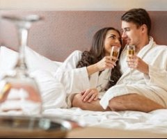 Spoil the one you love with a romantic break away, including Dinner Bed & Breakfast in an upgraded room, plus a bottle of Champagne and a box of chocolates in your room on arrival.  from just £53.00 per person
