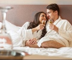 Spoil the one you love with a romantic break away, including Dinner, Bed & Breakfast in an upgraded room, plus a bottle of Champagne and a box of chocolates in your room on arrival. From just £96.00 per person.
