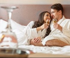 Spoil the one you love with a romantic break away, including Dinner Bed & Breakfast in an upgraded room, plus a bottle of Champagne and a box of chocolates in your room on arrival.  From just £100 per person