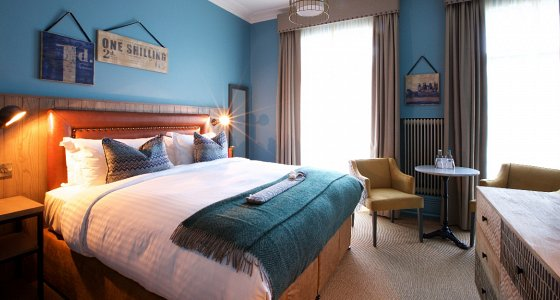 Improvements have been made across all 56 bedrooms, as well as throughout the public spaces