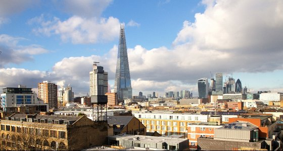 Boasting outstanding panoramic views of the London skyline