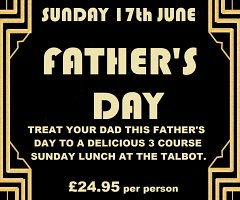 Father's Day 17th June