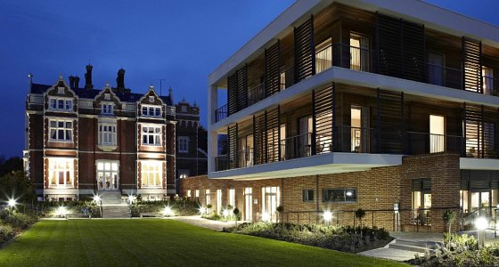 Wivenhoe House, Colchester - a perfect blend of old and new