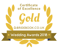 Gold Bridebook Wedding Awards 2018